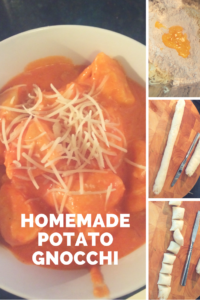 Homemade potato gnocchi is as easy-to-make as it is delicious.