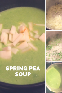Spring Pea Soup recipe from Living. (full time)