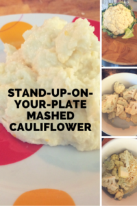 Thick and creamy mashed cauliflower that actually works as a mashed potato substitute!