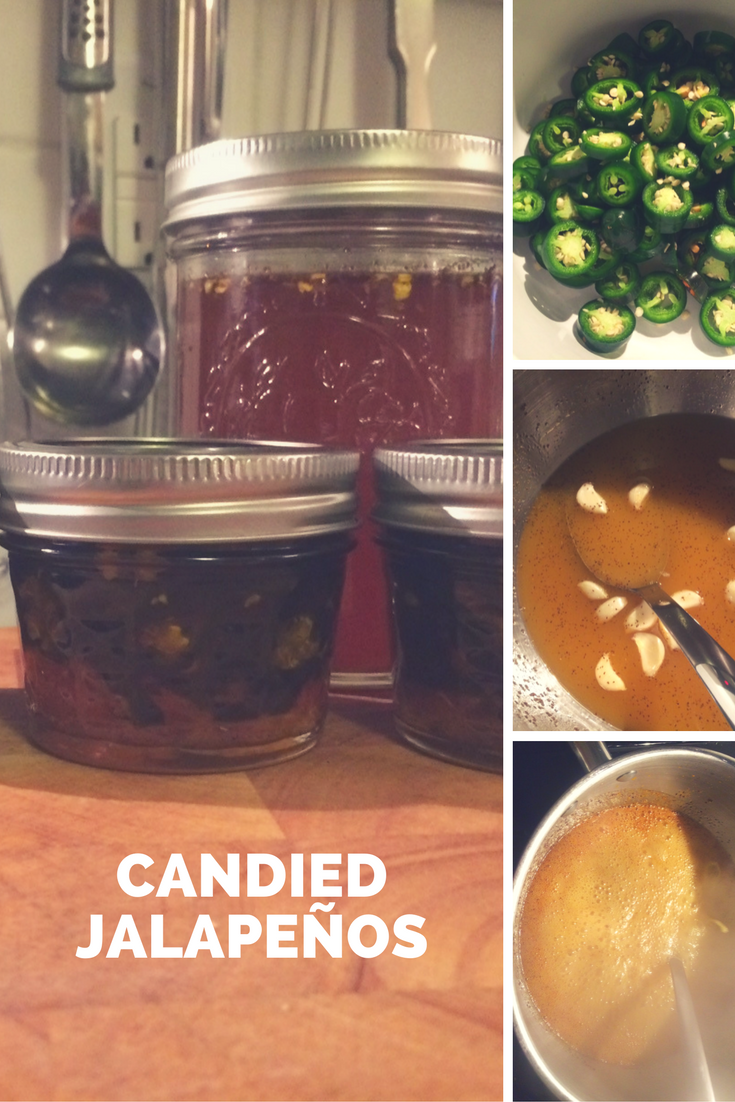 Candied Jalapeños! - Living. (full time)