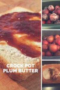 Crock Pot Plum Butter