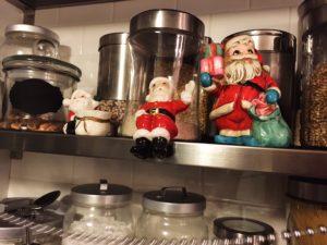 vintage santa figurines