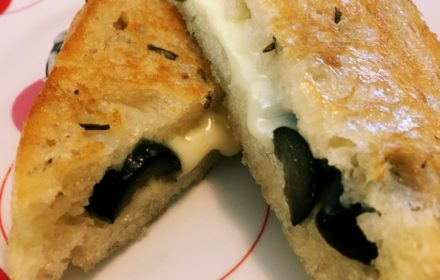 olive and rosemary grilled cheese grownup grilled cheese