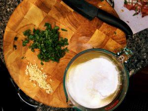 ingredients for autumn harvest lasagna